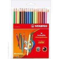 Kredki ołówkowe STABILO Color 18 kolorów