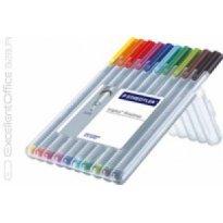 Cienkopis STAEDTLER Triplus Fineliner kpl. 10 kolorów