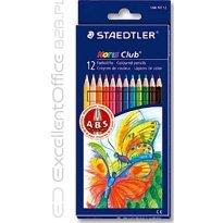 Kredki ołówkowe STAEDTLER Noris Club 12 kolorów