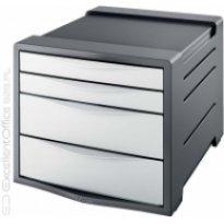 Pojemnik z szufladami ESSELTE Europost Vivida A4/4szuflady, biały