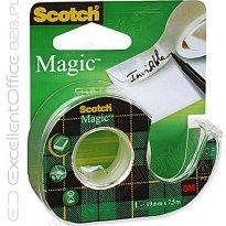 Taśma SCOTCH Magic 3M 890 (8-1975) 19x7,6 na dyspenserze