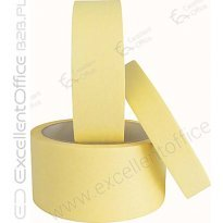 Taśma maskująca SMART 30mmx40m żółta