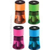 Temperówka TETIS podwójna mix-kolor
