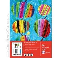 Blok rysunkowy TOP-2000 Creatinio A4/20k, 90g, biały