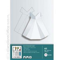 Blok techniczny TOP-2000 Creatinio A3/10k, 170g, biały
