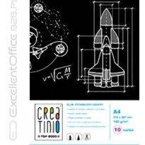 Blok techniczny TOP-2000 Creatinio A4/10k, 160g, czarny