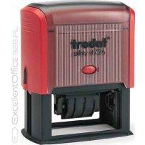 Datownik z płytką tekstową TRODAT PRINTY 4726 ISO, 75x38mm, wkład czerwony