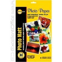 Papier foto. YELLOW ONE A4 140g matowy