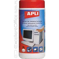Ściereczki do czyszczenia plastiku APLI (100szt)
