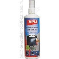Spray do czyszczenia ekranów APLI 250ml